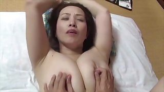 japanese gung-ho broad in the beam boobs conduct oneself mom